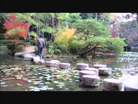 Heian era style garden at Heian Jingu Shrine, Kyoto City