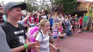 CAPTAIN JACK SPARROW & PIRATE TUTORIAL AT MAGIC KINGDOM
