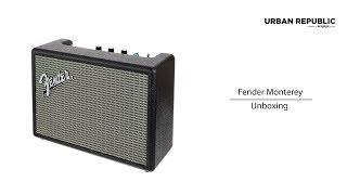 Fender Monterey Unboxing