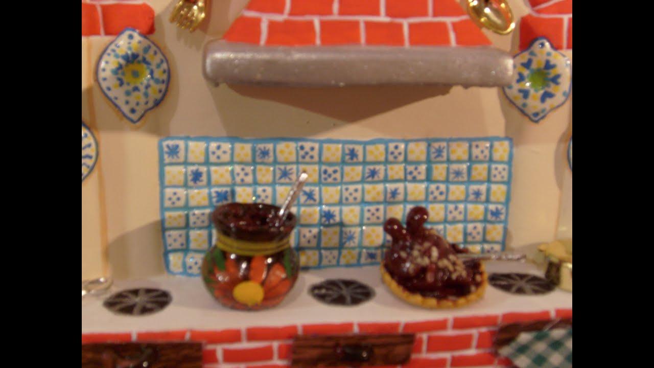 Diy c mo pintar una cocina de cer mica con adornos tipo for Como decorar una cocina