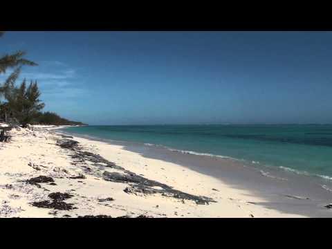 Pelican Beach looking west, North Caicos, Turks and Caicos