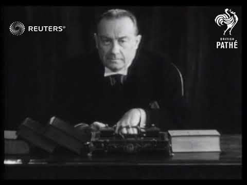 Stanley Baldwin's last cabinet meeting as Premier (1937)