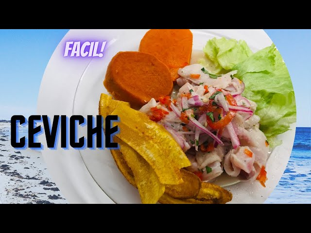 Easy Cooking Recipes Ceviche Peruano De Pescado Paso A Paso Peruvian Ceviche Step By Step Easy New Cookery Recipes