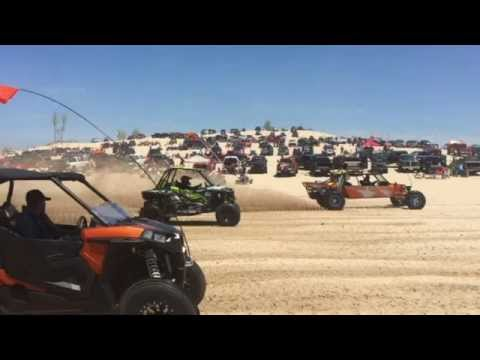 OSP Racing FOX xp 1000 at silver lake sand dunes