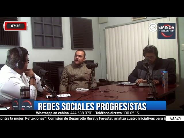 Entrevista con Jaen Castilla del presidente en San Luis Potosí de Redes Sociales Progresistas