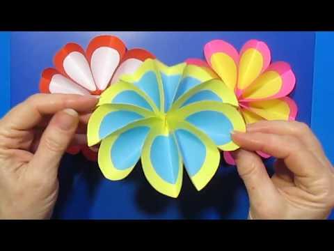 Волшебный Букет Подарок Сувенир/Поделки Бумаги Цветы Декор сделать на 8МАРТА,день матери мастеркласс