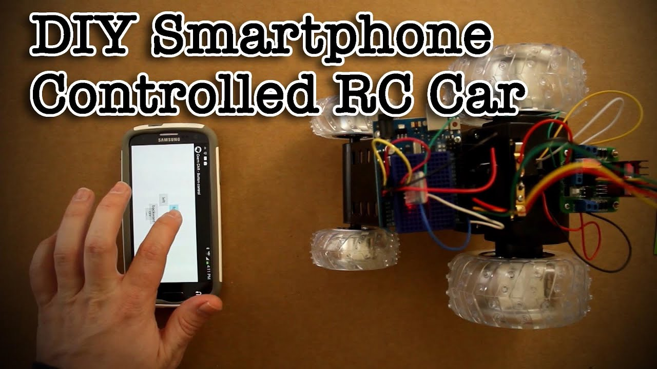 Diy Smartphone Controlled Rc Car Youtube Hybrid Telephone Circuit Hands Over Tech