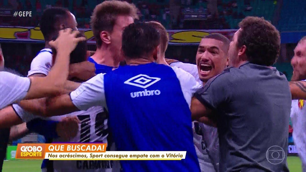 Hd Globo Esporte Pe Vitória 2 X 2 Sport Pela 26ª Rodada Do Brasileirão Série B 2019