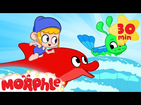 Mila & Morphle the dolphin play with Aqually - My Magic Pet Morphle | Cartoons For Kids | BRAND NEW