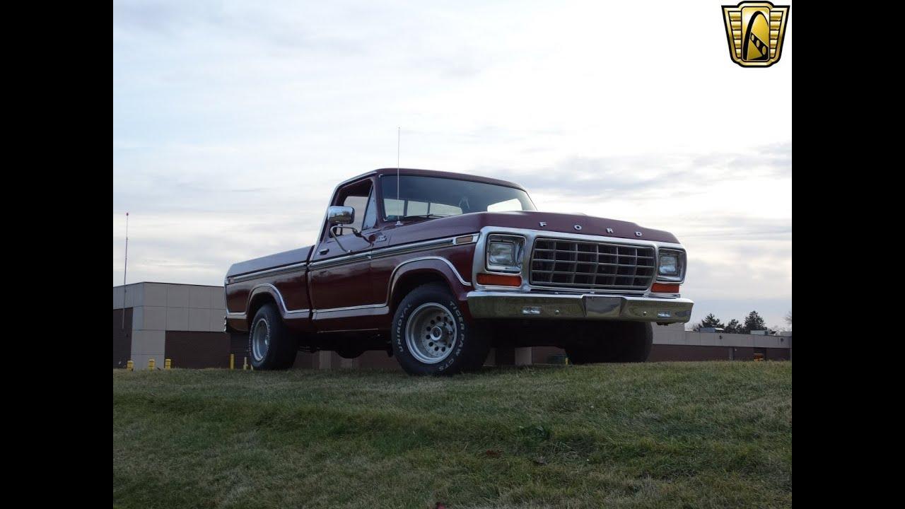 1978 Ford F100 Ranger Youtube