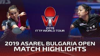 Anastasia Kolish - Shin Yubin | Bulgaria Open 2019