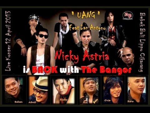 Nicky Astria Feat Ian Antono - Uang  ( Live Akustik HD Video )