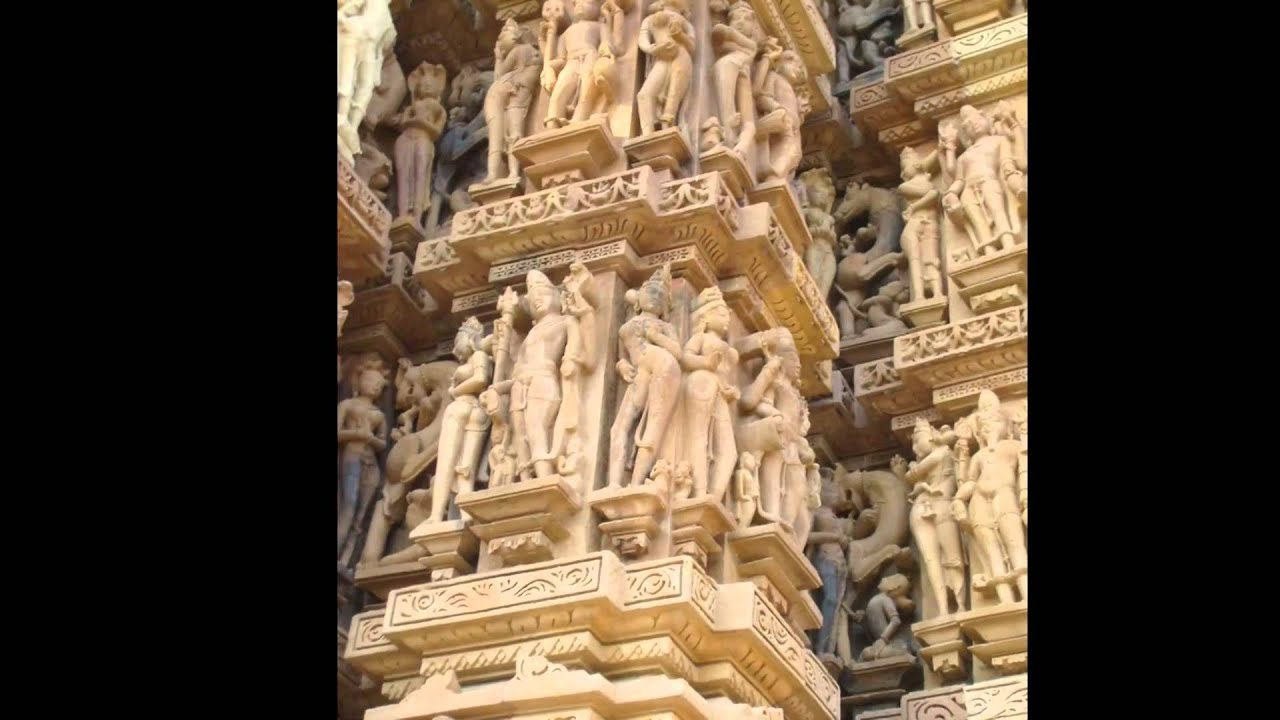 Khajuraho M.P. India Temple Tour - YouTube
