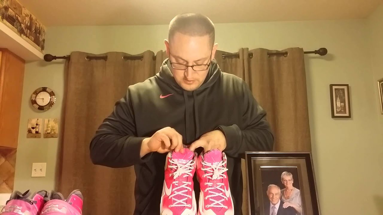 Lebron 11 Nike I.D. Gumbo Breast Cancer Awareness