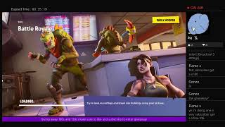 Fortnite stream streaming for fun have a g day stw giveaway