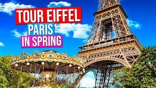 EIFFEL TOWER  | Paris, France (Paris in Spring)