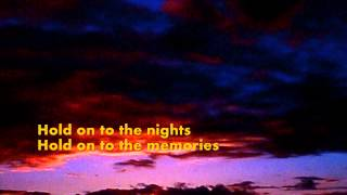 RICHARD MARX -  Hold On To The Nights (with lyrics)