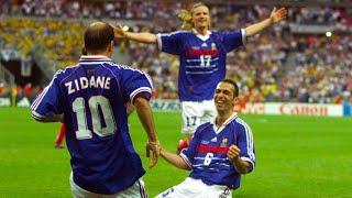 Сборная Франции 1998 ВСЕ ГОЛЫ СУПЕР КОМАНДА Все голы сборной Франции 1998 Чемпионат мира