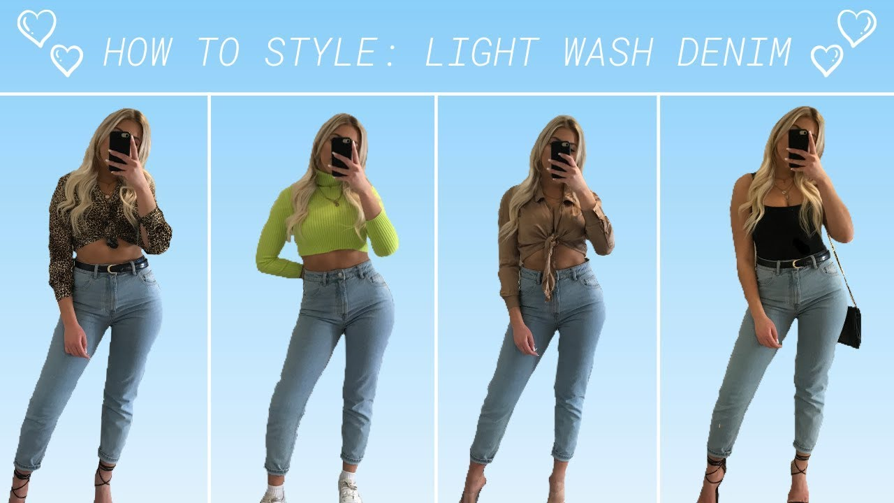 With what jeans light good looks 10+ Best
