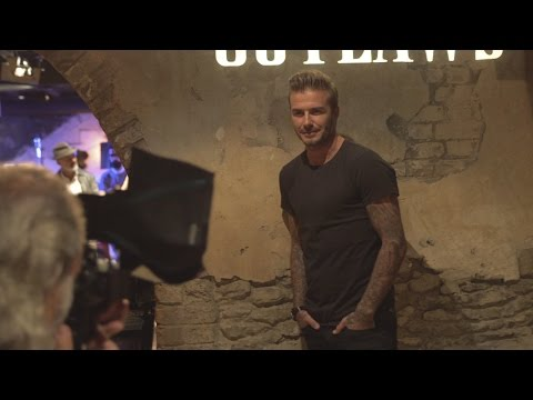 KOOKY LONDON NEWS : DAVID BECKHAM PREMIERES NEW SHORT FILM IN LONDON!
