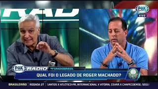 'Terra arrasada': FOX Sports Rádio discute legado deixado por Roger Machado no Palmeiras