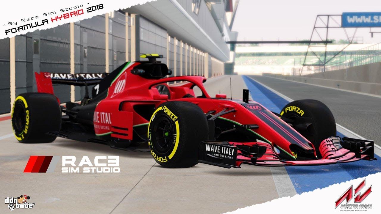Assetto Corsa - FORMULA HYBRID 2018 - By Race Sim Studio