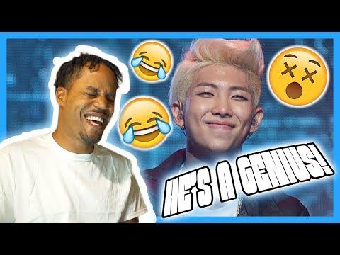 An Introduction to BTS: Rap Monster Version REACTION! | Bruh's A Genius!