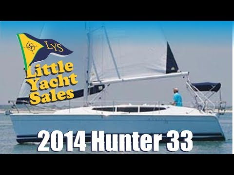 2014 Marlow Hunter 33 Sailboat for sale at Little Yacht Sales, Kemah Texas