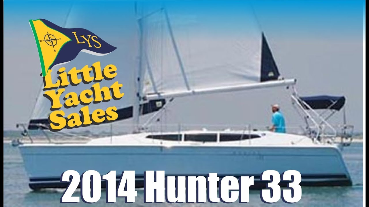 SOLD!!! 2014 Marlow Hunter 33 Sailboat for sale at Little Yacht Sales,  Kemah Texas