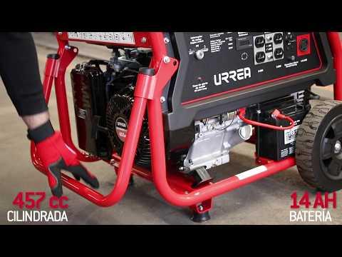 Generadores a gasolina URREA URREA México thumbnail