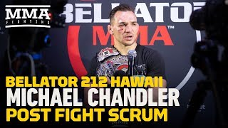 Bellator 212: If Michael Chandler Could Choose Anyone, Khabib Nurmagomedov Would Be Next