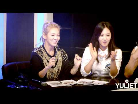 130831 Yuri & HyoYeon @ Mnet Dancing9 ~Team Blue, Street Dance Stage~