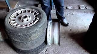 Ремонт автомобиля. Ford Granada. [Часть 7] Второй комплект родных дисков. Летняя резина.(, 2014-06-29T10:36:56.000Z)