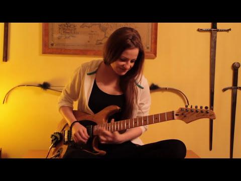 Brigitte Scharner - Guitar  Metal Solo
