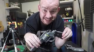 Gambar cover 3D Printing a  Revolver (Prop)   Flashforge Finder