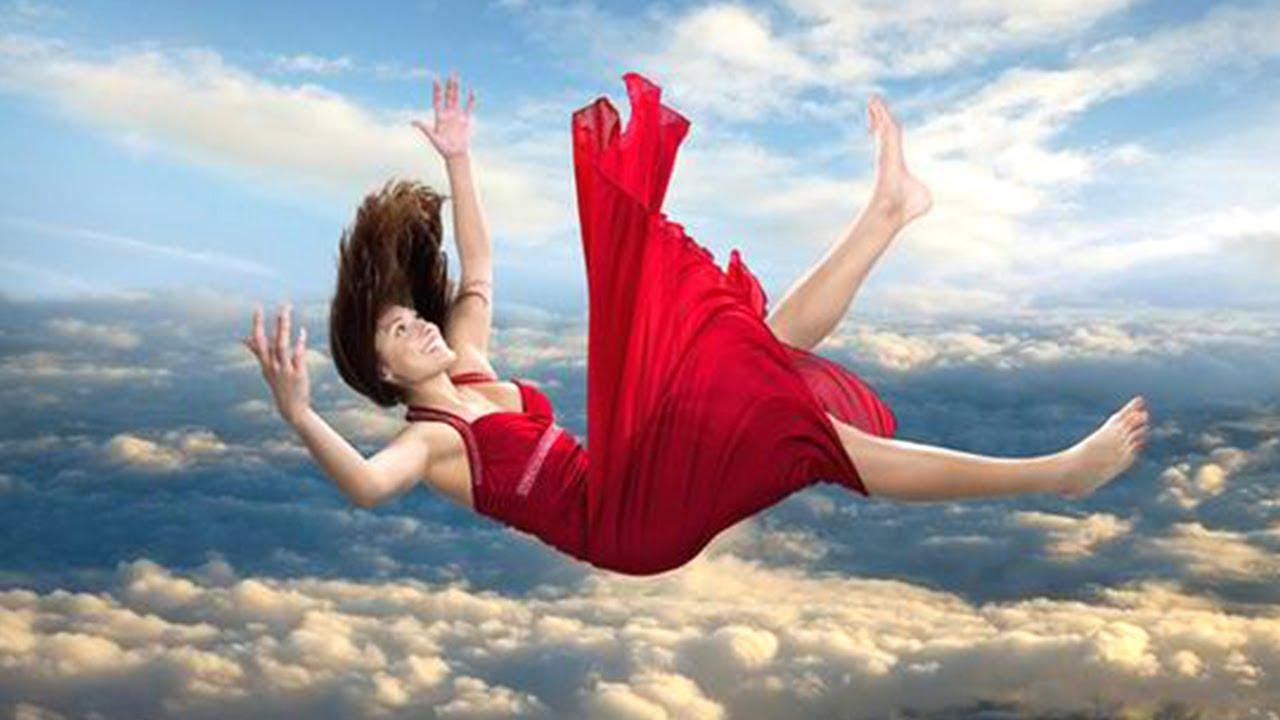 подход, современные картинка с летящим человечком послание