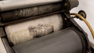 Letter Press Printing Lives on at the University of Pennsylvania