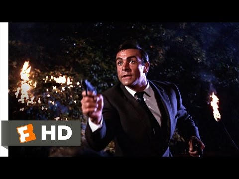 From Russia with Love (3/10) Movie CLIP - Gypsy Camp Assault (1963) HD