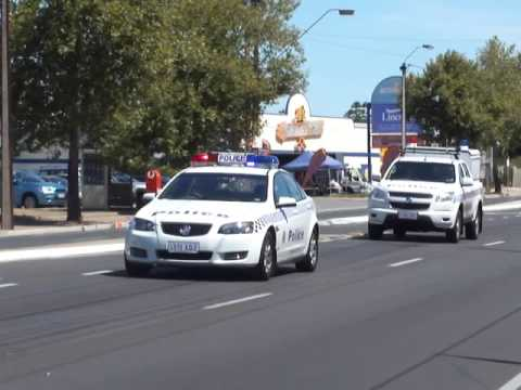 SAPOL on North East Rd