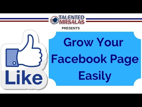 📈Grow your Facebook Page 📈 - How to grow your Facebook Page Effortlessly with no Ads