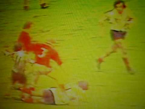 Graham Price Try Wales v France 1975
