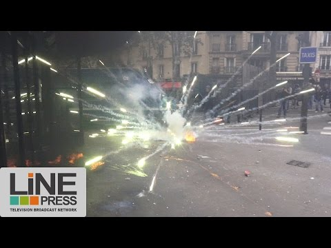 Loi Travail. Violents affrontements / Paris - France 17 mai 2016