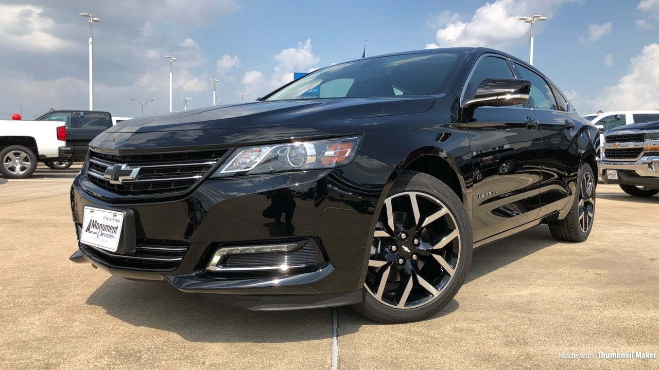 2018 chevrolet impala midnight edition 3 6l v6 review [ 1280 x 720 Pixel ]