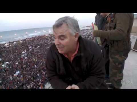 CNN in Banghazi, Libya