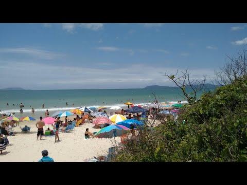 Praia de Palma de Governador Celso Ramos SC