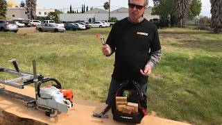 Alaskan Chainsaw Milling - Tips and Tricks