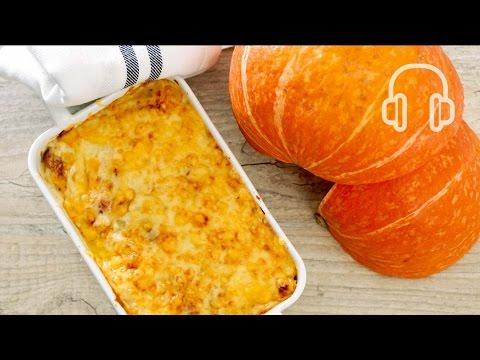 Pumpkin Gratinかぼちゃのグラタン