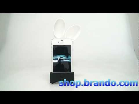 IPhone 4S QRIC Simplism Sound Star (Rabbit)