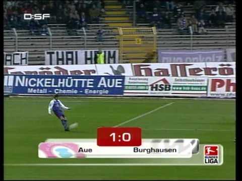 FC Erzgebirge Aue vs Wacker Burghausen 2004 2005