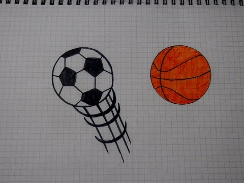 Вопрос: Как нарисовать баскетбольный мяч?